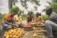 Cargill made progress toward enabling cocoa farmers and their communities to achieve better living standards  Source: Cargill