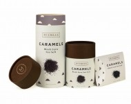McCrea's Good Foods Award winning product: Black Lava Sea Salt Caramel